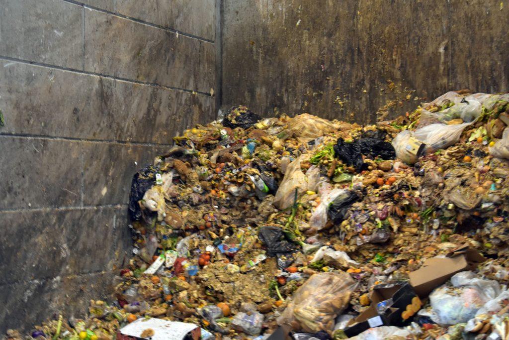 Odpadky v bioplynce Rapotín