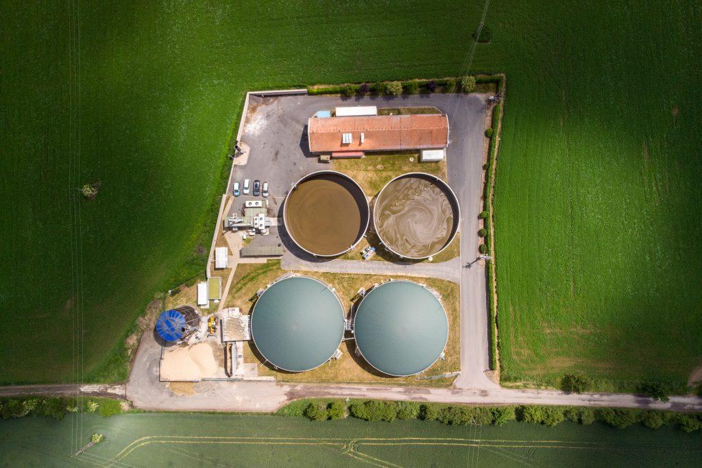 Bioplynová stanice v Tupadlech u Čáslavi